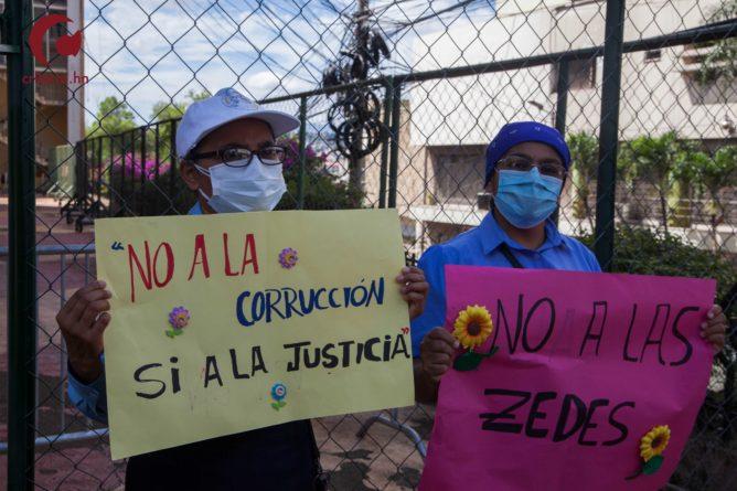 dicen no a las ZEDE en Honduras