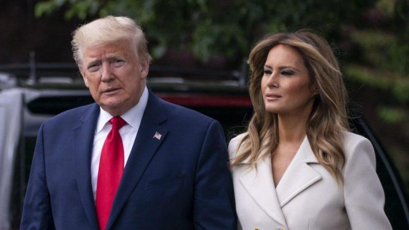 Trump y su esposa Melania dan positivo por Covid-19