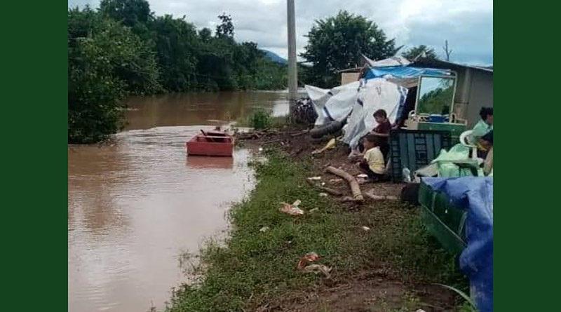 nuevas inundaciones en Valle de Sula