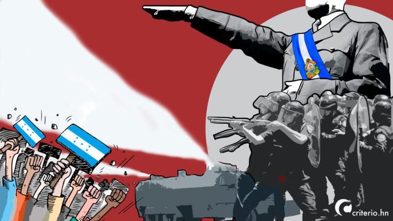 A sangre y fuego Juan Hernández ha secuestrado el poder en Honduras