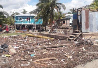Urge ayuda a más de 100 mil indígenas y afrodescendientes tras el paso de huracán Eta en Honduras