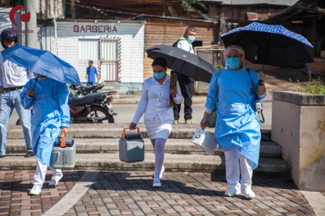 Enfermeras de la zona sur