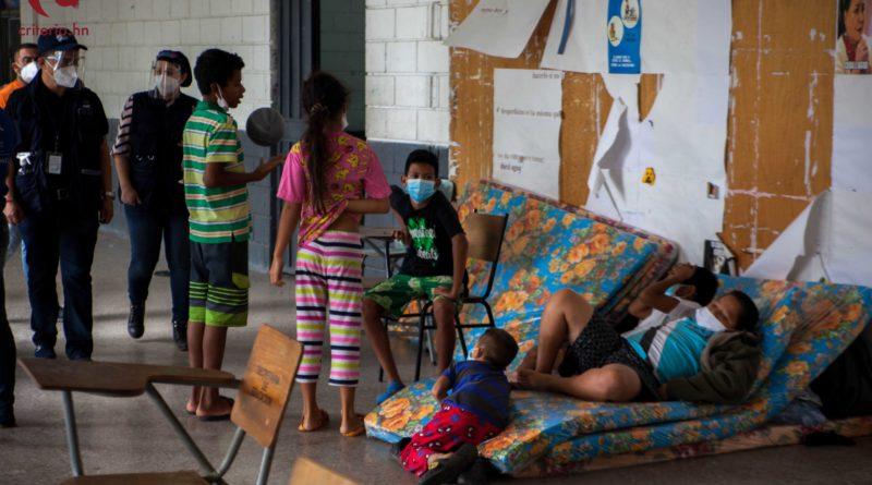 niños y niñas están en riesgo en Honduras