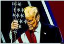 """""""Regresaremos de alguna forma"""", dijo Trump al dejar la Casa Blanca"""