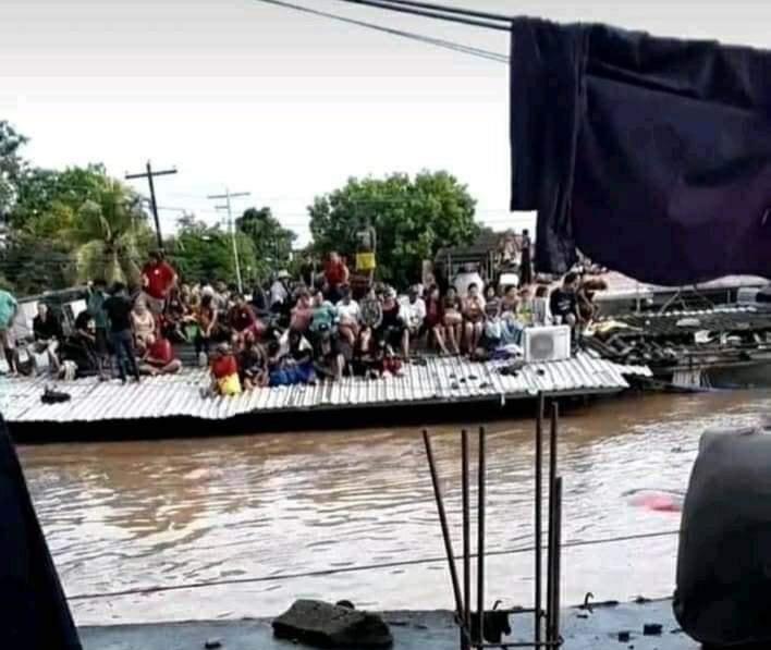 Valle de Sula revive fantasma de Huracán Mitch