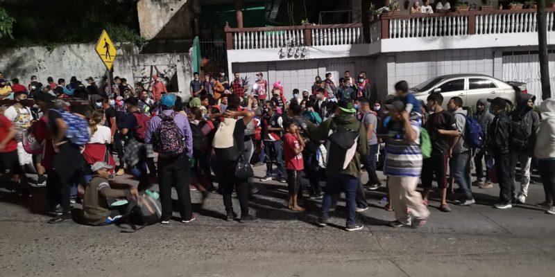 migración de hondureños