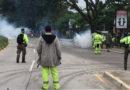 Agentes matan a un hombre durante desalojo ordenado por Armando Calidonio en San Pedro Sula