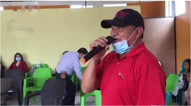 asesinato de dirigente campesino Félix Vásquez