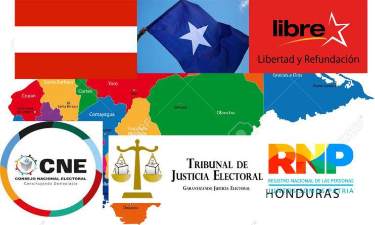partidización de órganos electorales
