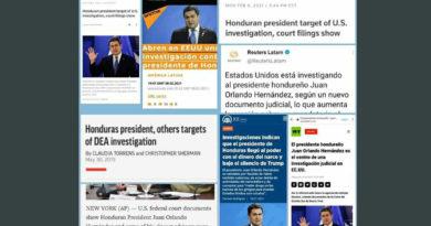 Medios tradicionales omiten investigación en EE.UU a presidente de Honduras