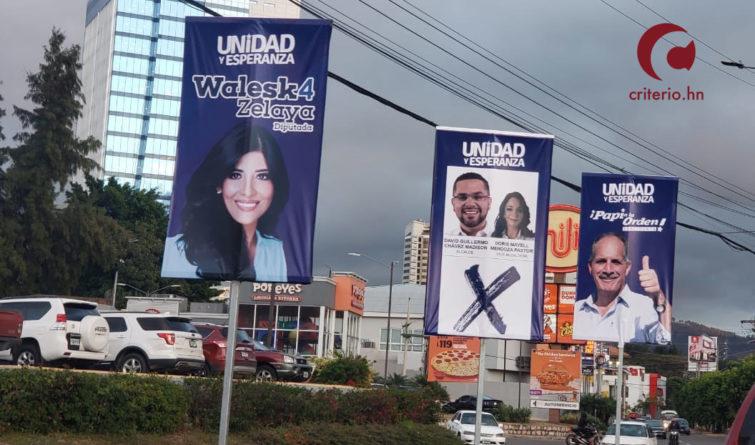 partidos políticos Honduras