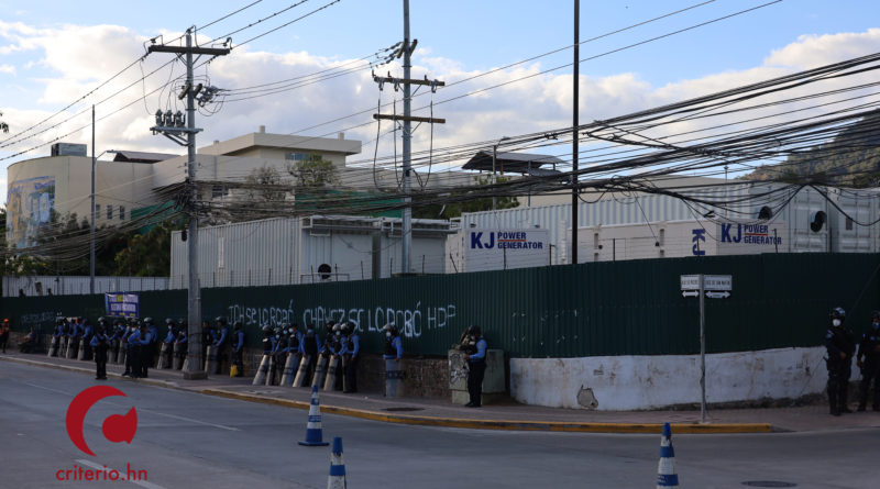 Hospital móvil de Tegucigalpa