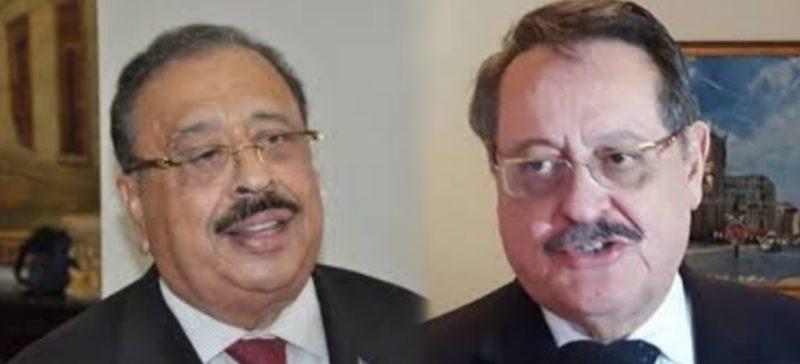 Edmundo Orellana y Oswaldo Ramos Soto