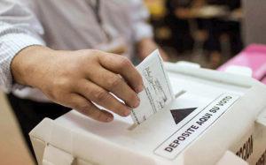 acudir a las urnas para recuperar la democracia