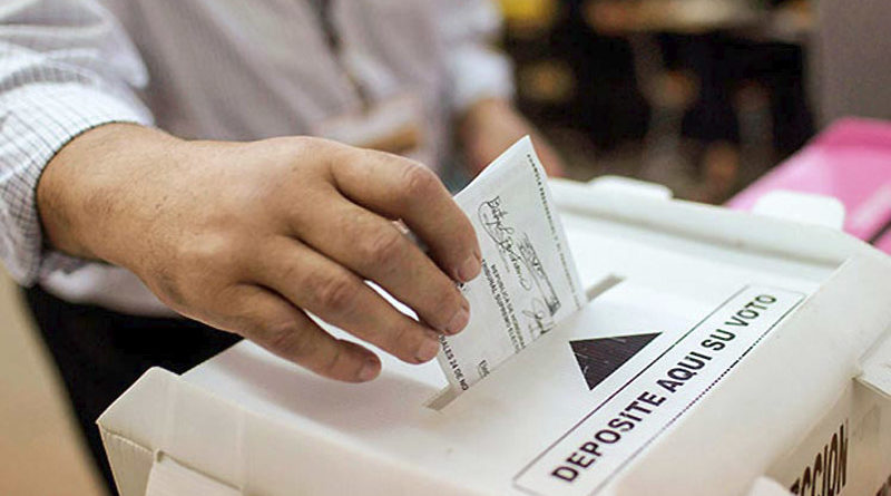 Elecciones son la vía pacífica