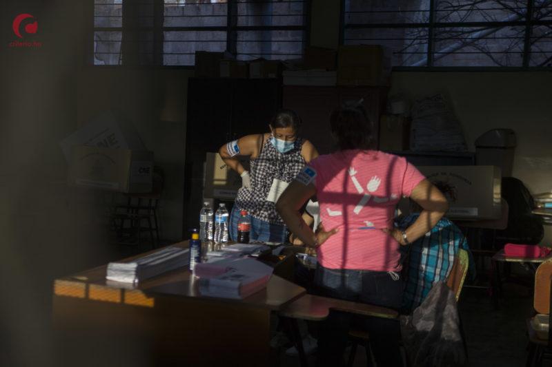 Fraude electoral Honduras