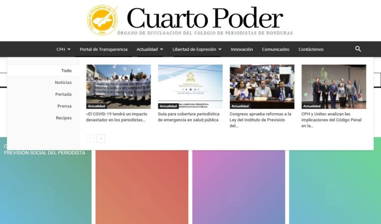 corrupción periodistas Honduras