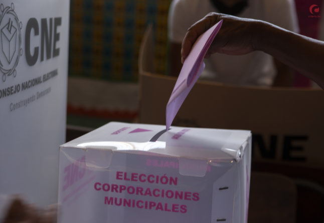 no votar por candidatos manchados