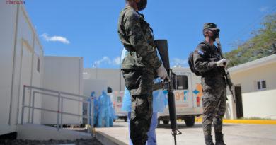 Hospitales móviles de San Pedro Sula y Choluteca no son aptos para atender pacientes con Covid-19