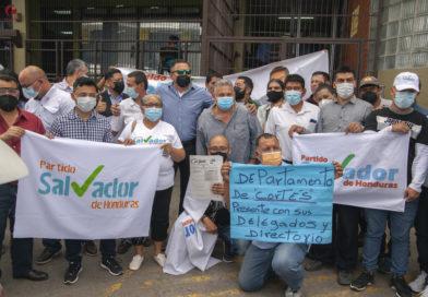 Impugnan reglamento del Partido Salvador de Honduras y denuncian que secretario es un infiltrado