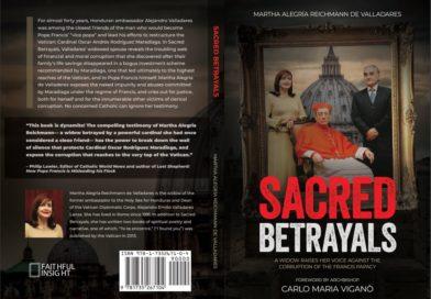 Traiciones Sagradas en su versión inglés remarca la corrupción de la iglesia católica