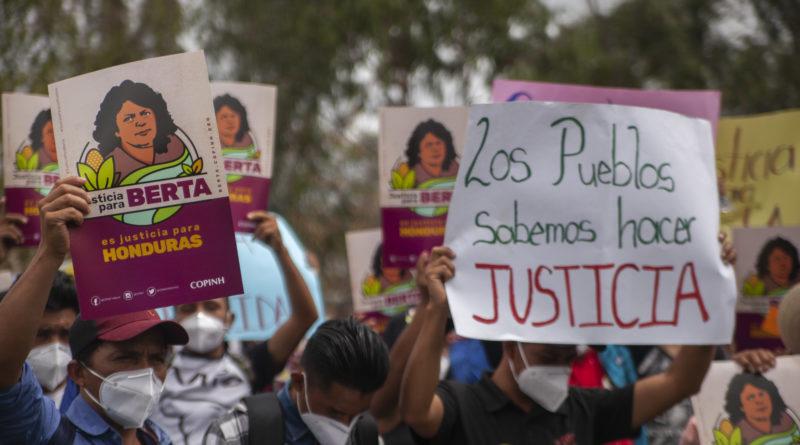 piden justicia para Berta Cáceres
