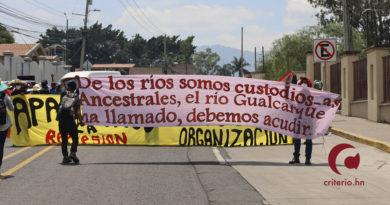 Manifestación contra las ZEDE