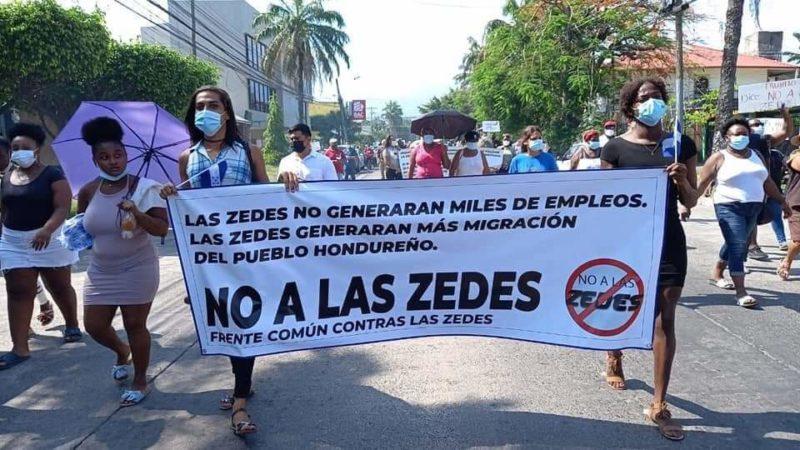 no a las ZEDE en Honduras