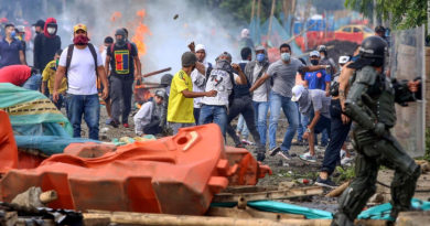 protesta social en Colombia