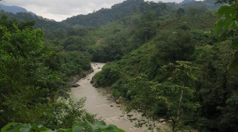 Río Gualcarque uno de los ríos que Berta Cáceres defendía