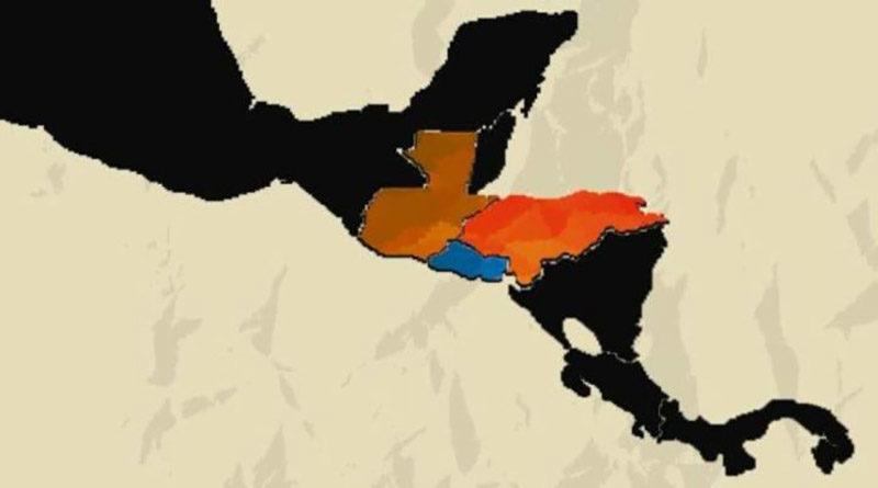 triángulo norte Centroamérica
