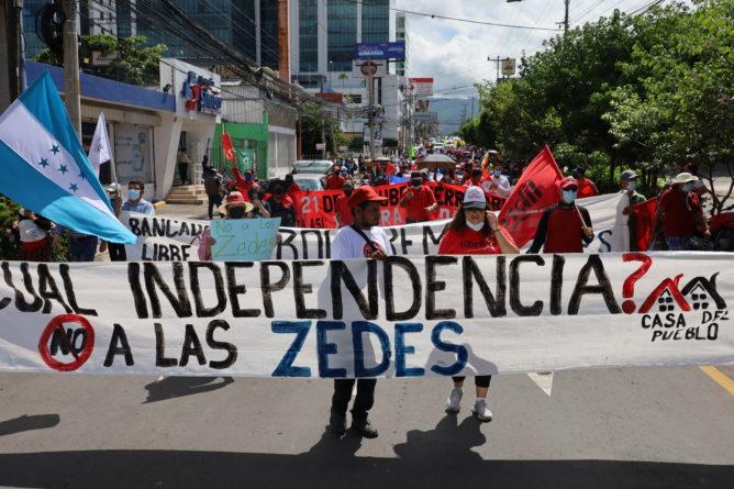 bicentenario zede militares Honduras