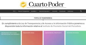 periodistas Honduras