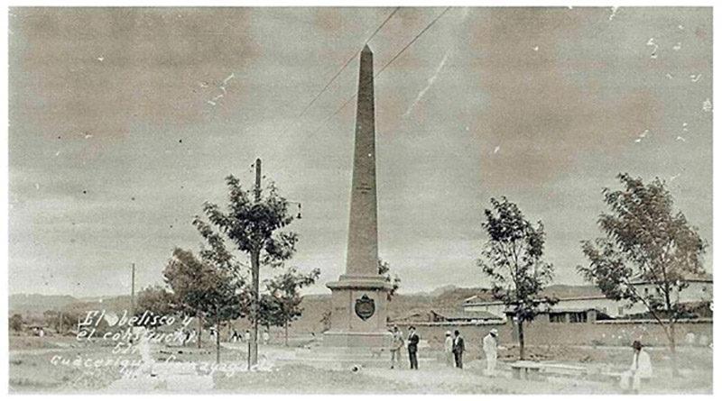 El Obelisco en Comayagüela