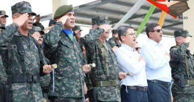 Militares Honduras