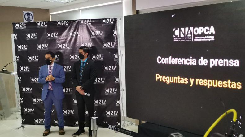 irregularidades empresas contratadas CNE