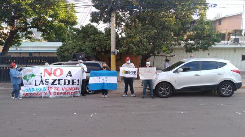 protestan contra las ZEDE