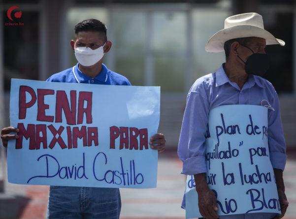 Sentencia contra David Castillo